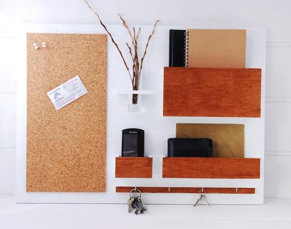 veranstalter organizer 63 x 45 5 cm holz ein wandhalter. Black Bedroom Furniture Sets. Home Design Ideas
