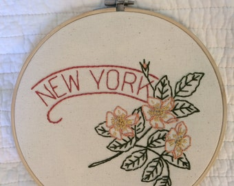 New York - Rose 9'' Hoop
