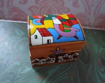 Wood box El Salvador