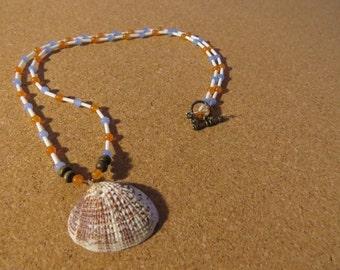 Seashell beadwork Necklace