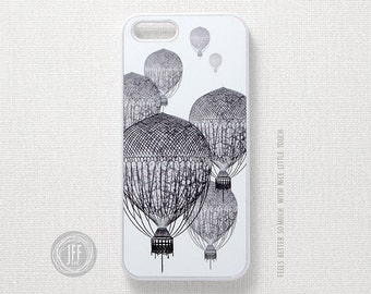 iPhone 6S case Balloon, Vintage iPhone 5 case, iPhone 5S case, Vintage iPhone 4 case, iPhone 4 case Antique, iPhone case Draw Vintage 018 PV