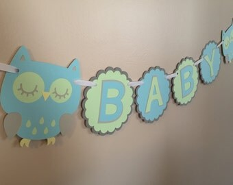 Owl Baby Banner