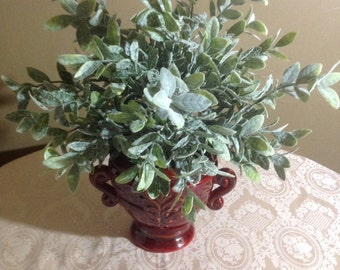 Faux Silk DustyMist green plant