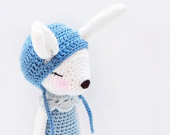 Crochet Pattern - Harriet the Mountain Hare