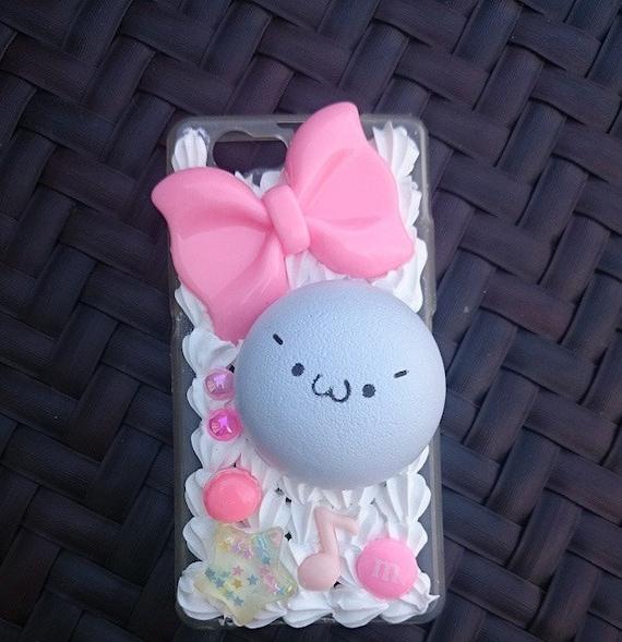 Squishy Custom : Custom Kawaii Emoji Squishy Decoden phone case