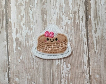 Flapjack Pancake Felties- (set of 4) UN-CUT