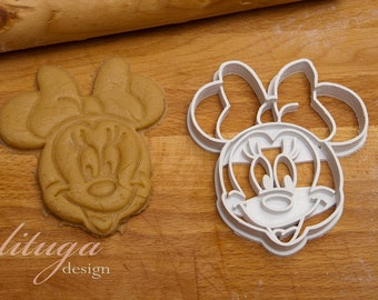 Disney inspired  - Minnie Mouse cookie cutter