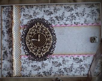 Custom Scrapbook Guest Book