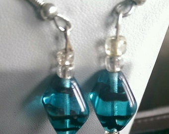 Tourquoise Wave Earrings