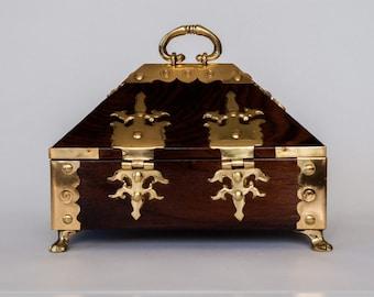Ethnic Handmade Jewellery Box from India