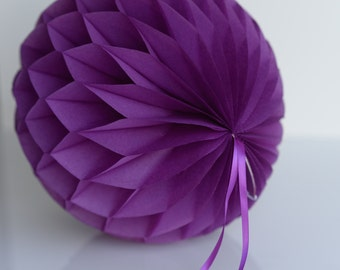 PLUM Tissue paper honeycombs -  hanging decorations