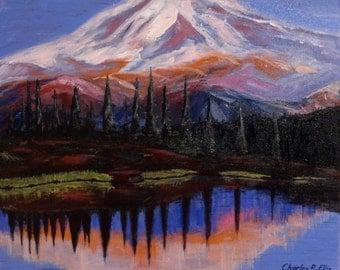 Mirror Lake Sunset