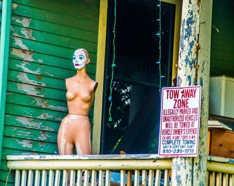 8 x 10 Scary Clown Mannequin Photo in Flint, Michigan