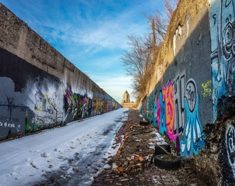 12 x 18 Detroit Street Art Graffiti Photo
