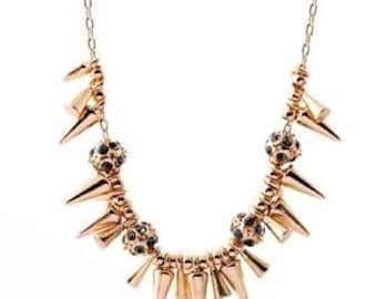 Short Rivet Necklace