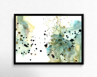 Wall Art Print Wall Decor Wall Art Prints Abstract Painting Abstract Art Print Abstract Wall Art Abstract Watercolor Painting Watercolor Art