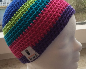 Colorful Beanie from original my Boshi wool