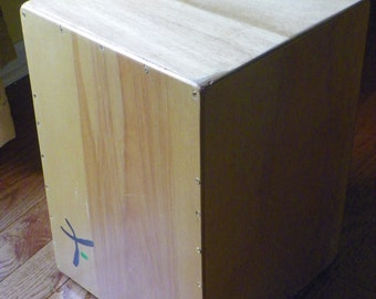 Custom Made Birch Cajon Drum with or without Adjustable Snare