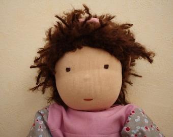 Laura handmade Doll Waldorf