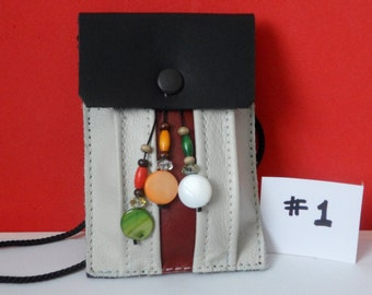 Leather Neck Pouches