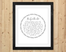 How Great Thou Art Printable Wall Art / Christian Printable Hymn Lyrics / How Great Thou Art Print / Gift for Pastor / Christian Wall Art