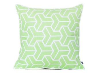 mid century modern pillow