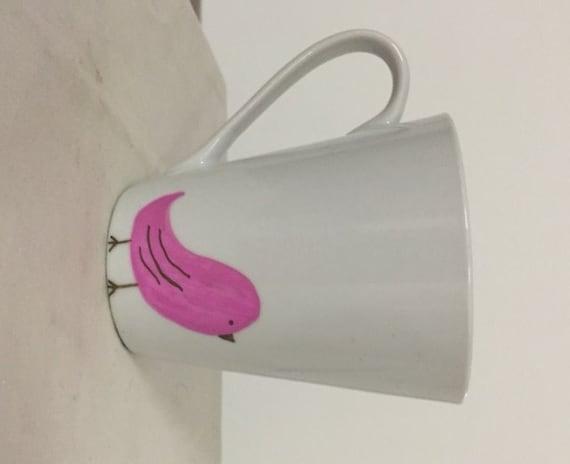 Bird and quote coffee mug