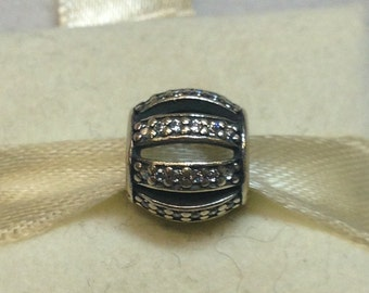 Authentic Pandora Silver Leading Lady Charm #791115CZ