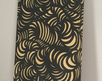 Curls (Easter Yellow) painting