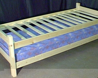 Stacking guest beds