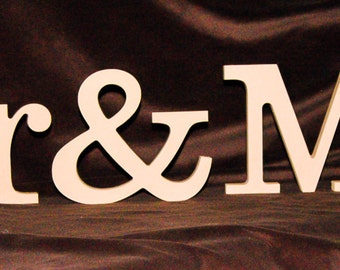 Super Mr and Mrs Wood Letters