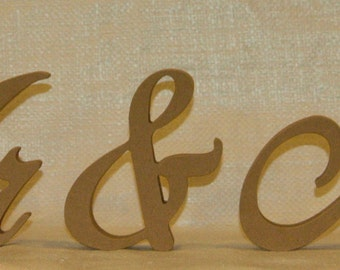Mr and Mrs Wedding Table Letters V3