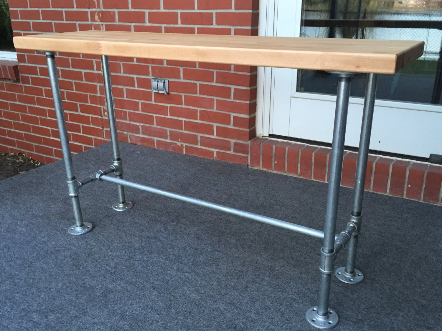 Outdoor Indoor Bench For Bar Height Table