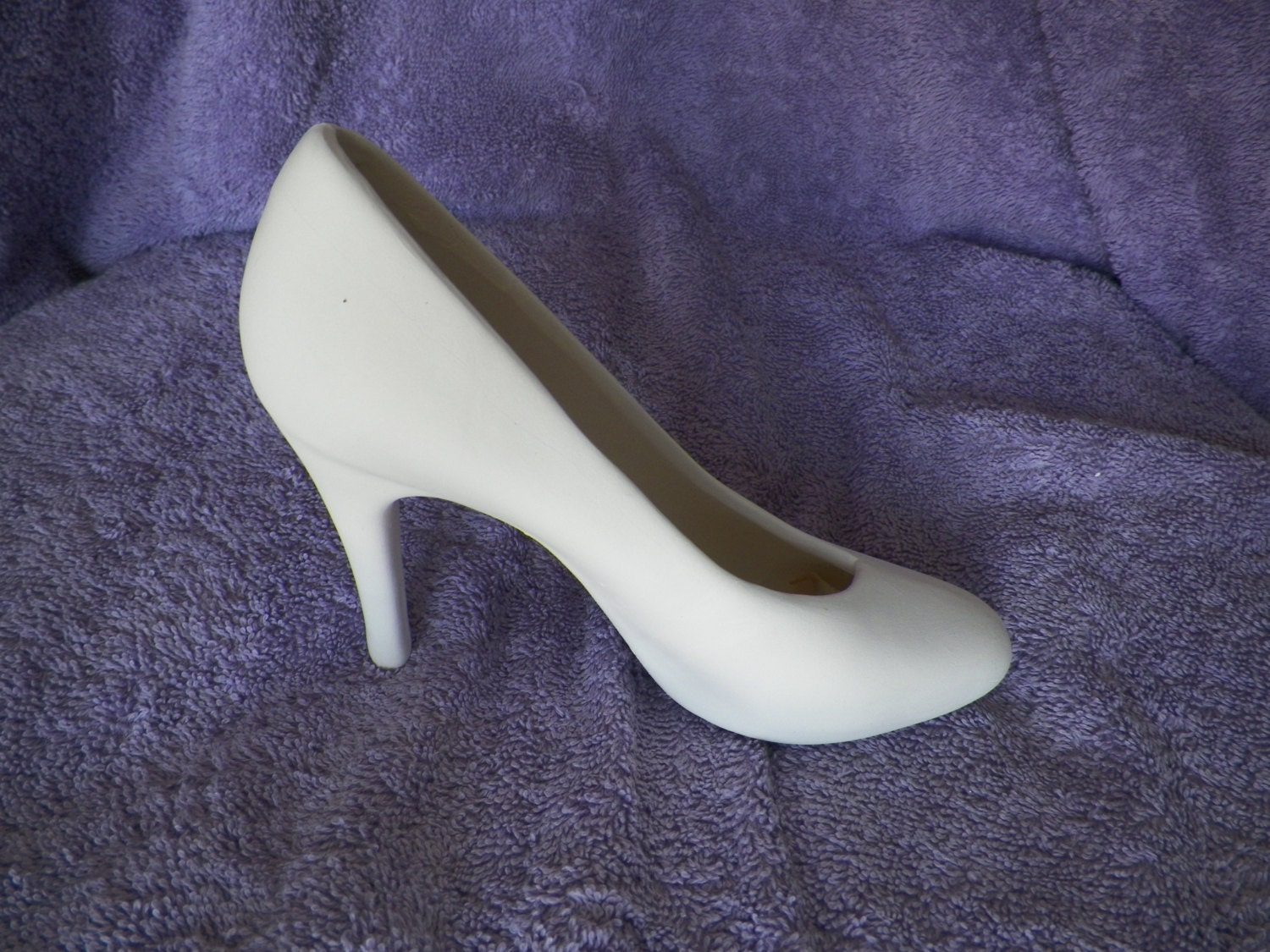 ceramic high heel bisque ready to paint by bnsceramics on etsy