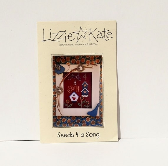 Lizzie Kate Pattern Seeds 4 A Song Cross Stitch Patterns