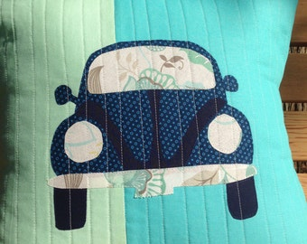 PATTERN- VW Beetle Pillow Pattern for the DIYers