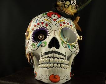 Steampunk Sugar Skull