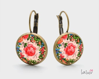 Earrings WILD ROSE