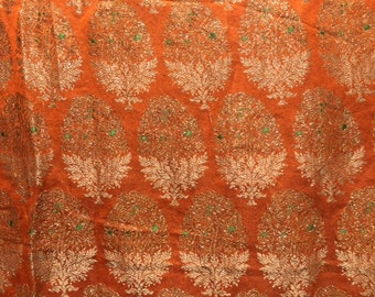 1930's Indonesian Hand Loomed Songket Fabric