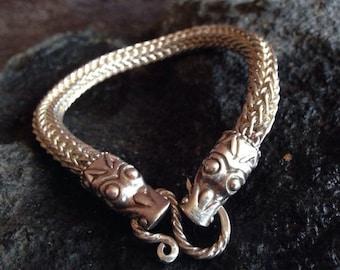 bracelet viking silver 925