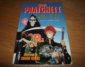 Terry PRATCHETT-MORT-A Discworld Big Comic-Signed-1st/1st-hb-1994-vg-Mint-Victor Gollancz-Rare INKVESTMENT