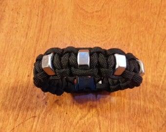Cobra Hex Nut Paracord Bracelet
