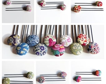 Pair of  Liberty Stud Hairpins