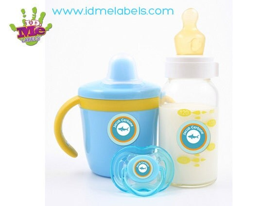 Waterproof Personalized Baby Labels for Kids (Personalized for Baby, Daycare, School, Newborn, Dishwasher Safe)
