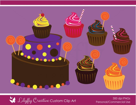 Topsy Turvy Cake Clipart : Whimsical Cake Shop Clip Art Topsy turvy cake by ...