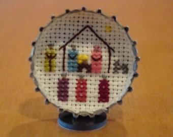 Mini Nativity Counted Cross Stitch