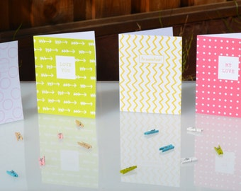 You and Me Cards and envelopes