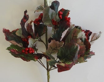 "15"" Red Berry Bouquet (Pack of 6)"