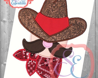 Cowboy Up Applique Design For Machine Embroidery Western designs INSTANT DOWNLOAD