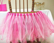 Customizable High Chair Tutu